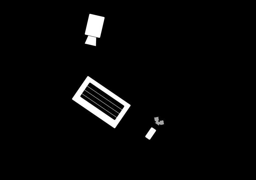 Inkoppling av kamera och ljud